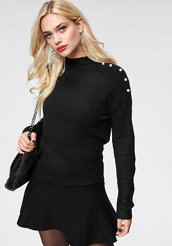 Пуловер с воротником-стойкой »AG...