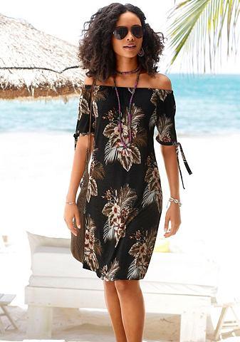 Платье пляжное с шнурки an den рукавам...