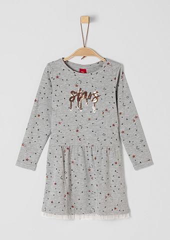 S.OLIVER RED LABEL JUNIOR Платье из джерси с с пайетками для M&a...