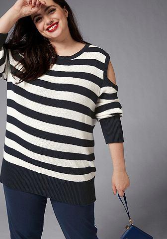 GMK Curvy Collection пуловер в полоску...