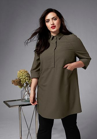 GMK Curvy Collection блузка длинная