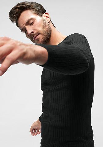 JOHN DEVIN Пуловер с круглым вырезом