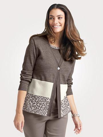 Пуловер в 2in1-Optik