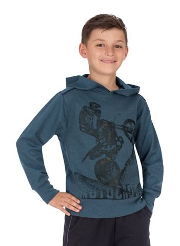 Пуловер с капюшоном Motocross
