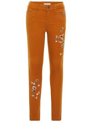 NAME IT Облегающий форма брюки