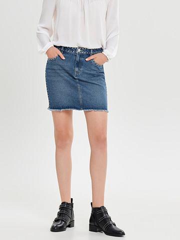 ONLY Nieten юбка джинсовая