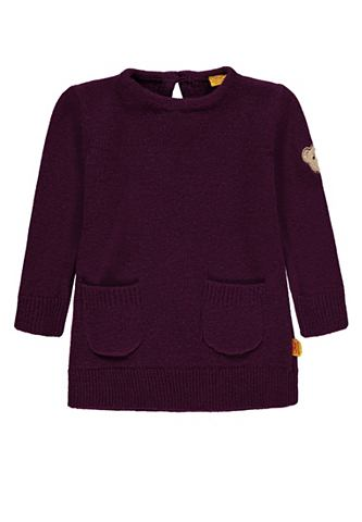 Трикотажный пуловер с карман