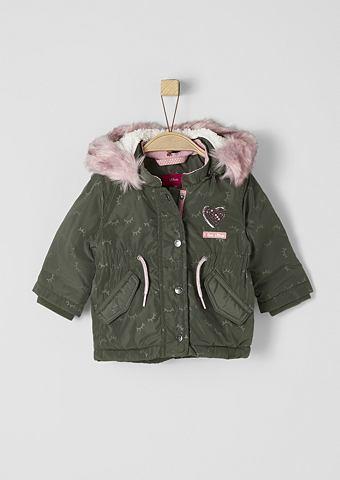 S.OLIVER RED LABEL JUNIOR Пальто зимнее с Kunstfell-Detail для B...