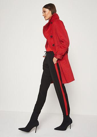 Модный Paletot-Mantel с высокий воротн...