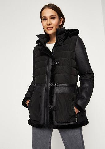 Moderne Куртка стеганая с пятна из иск...