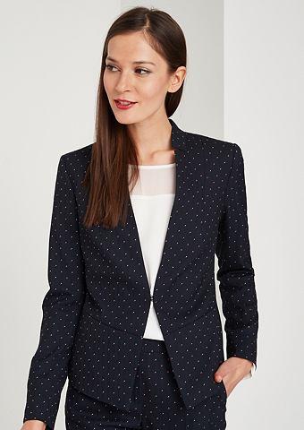 Элегантный пиджак в сочетание узоров