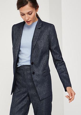 Матовый блестящий пиджак с smarten эле...