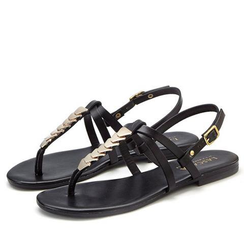 Zehentrenner-Sandale из кожа