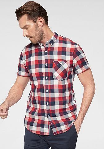 TOM TAILOR джинсы рубашка с короткими рукавами в клетку