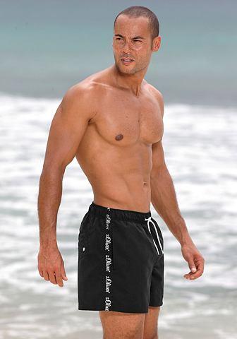 RED LABEL Пляжный шорты для купания с ...
