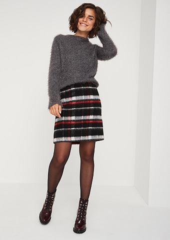 COMMA Короткий юбка в Wolloptik