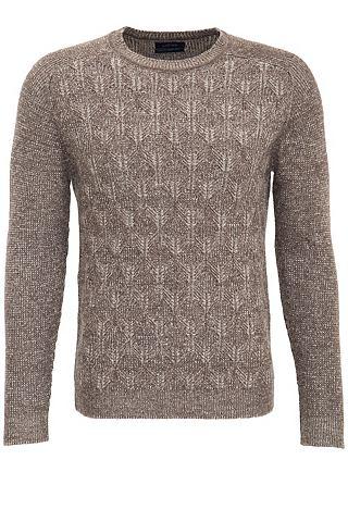 LUFIAN Пуловер с круглым вырезом »Frank...