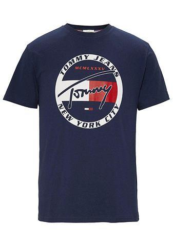 TOMMY джинсы футболка »TJM CIRCL...
