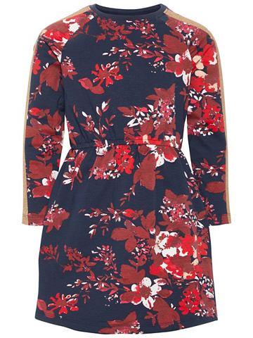 Цветочным узором Baumwoll платье