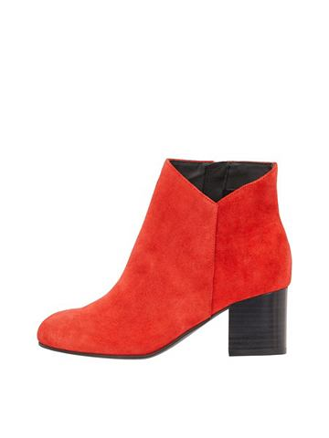 V-Cut-Wildleder укороченный ботинки