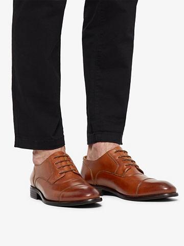 Herren Schnür Derby-Schuhe