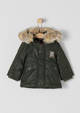 S.OLIVER RED LABEL JUNIOR Beschichteter пальто с Kunstfell для B...
