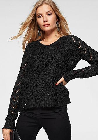 Ажурный пуловер »KIRI«