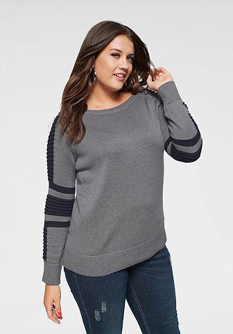 Пуловер с круглым вырезом »im Bi...
