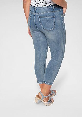 Капри джинсы »mit жемчуг и Glitz...