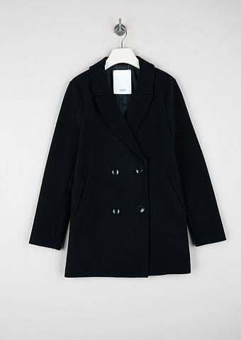 Пальто с samtiger Haptik