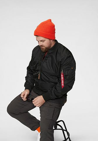ALPHA INDUSTRIES Куртка »MA-1 gefüttert&laqu...