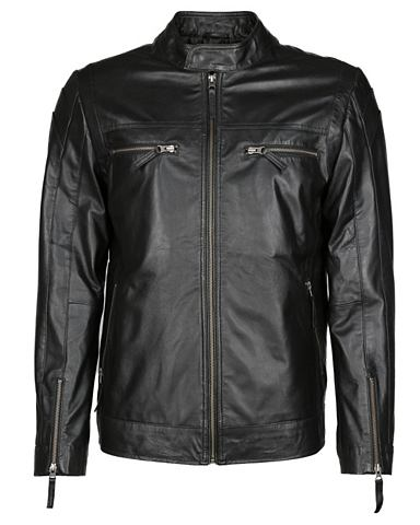 JCC Куртка кожаная с два Brusttaschen &raq...