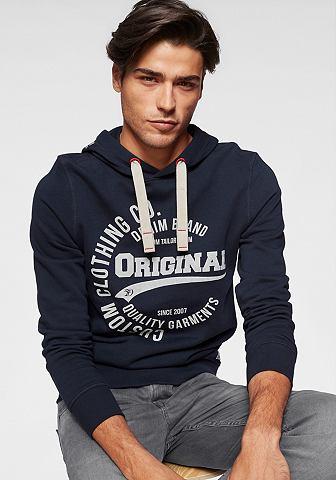 TOM TAILOR DENIM Tom Tailor джинсы кофта с капюшоном