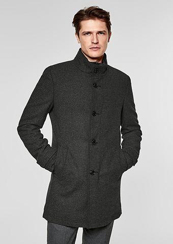 S.OLIVER BLACK LABEL Modern форма: пальто короткое с Strukt...