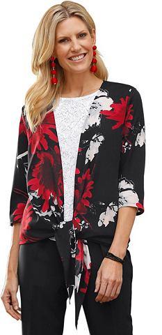 CLASSIC BASICS Рубашка-куртка в üppigen с цветоч...