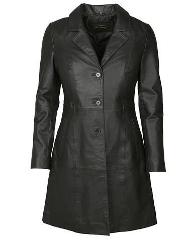 Пальто кожаное klassisch »IK14-2...