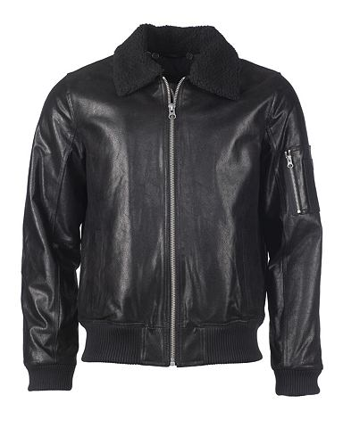 Куртка кожаная с талия »TTM 8206...