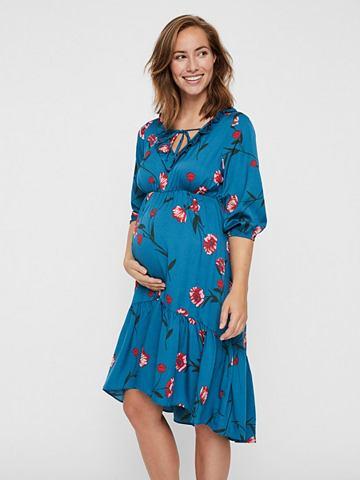MAMALICIOUS Blumenprint- платье для беременных