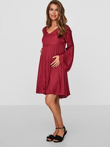 MAMALICIOUS С длинными рукавами платье для беремен...