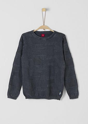 Пуловер с узор для Jungen