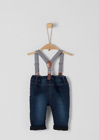 S.OLIVER RED LABEL JUNIOR Warme джинсы с Hosenträgern для B...