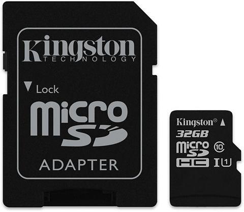 KINGSTON Карта памяти »micro SDHC Class 1...