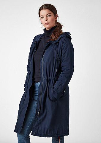 Langer куртка парка с капюшон