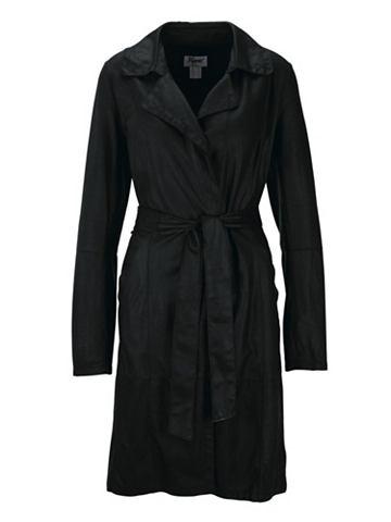 heine STYLE Пальто кожаное с ткань восковым покрыт...