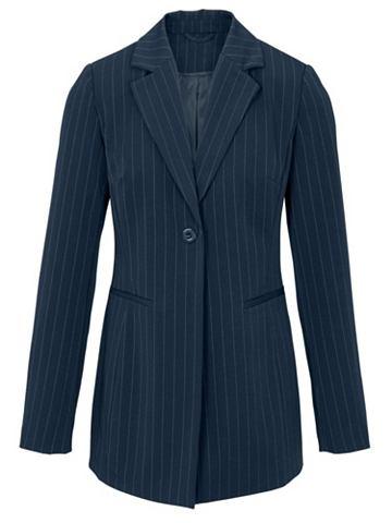 Пиджак длинный с кантом
