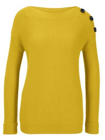 heine TIMELESS Пуловер с боковой пуговицы