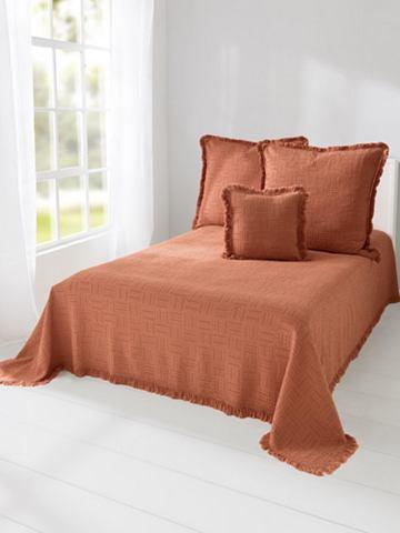 Покрывало на кровать с бахрома