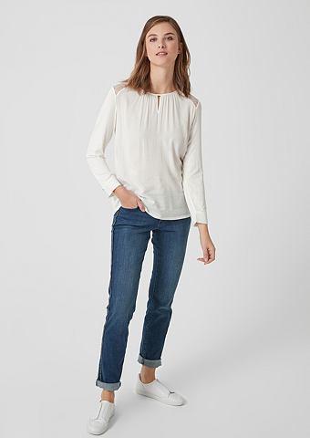 Блузка-рубашка с кружева