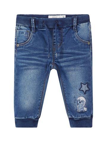 NAME IT Weiche узкий форма джинсы