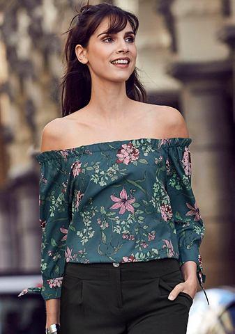 LAURA SCOTT Блузка в стиле кармен